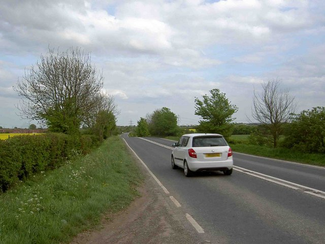 A638 Doncaster Road near Upton