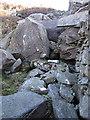 SH6529 : The Great Wall of Rhinog by Rudi Winter