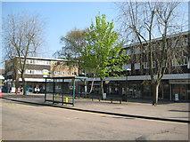 TQ1293 : Carpenders Park: Delta Gain: The Parade by Nigel Cox