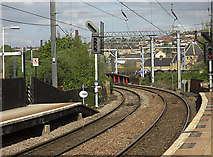 SE1537 : Shipley railway station by michael ely