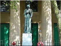 TQ3377 : War Memorial outside St George's Church Camberwell by PAUL FARMER