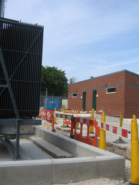 Working on the sub station