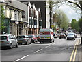 SP0782 : High Street Kings Heath, The Station Pub on the Left by Roy Hughes
