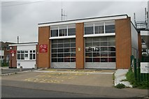 TQ7183 : Corringham fire stationfire by Kevin Hale