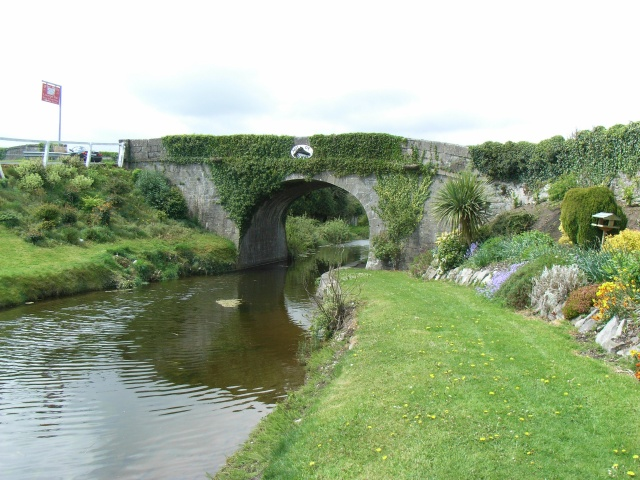 Hill of Down Bridge on the Royal Canal
