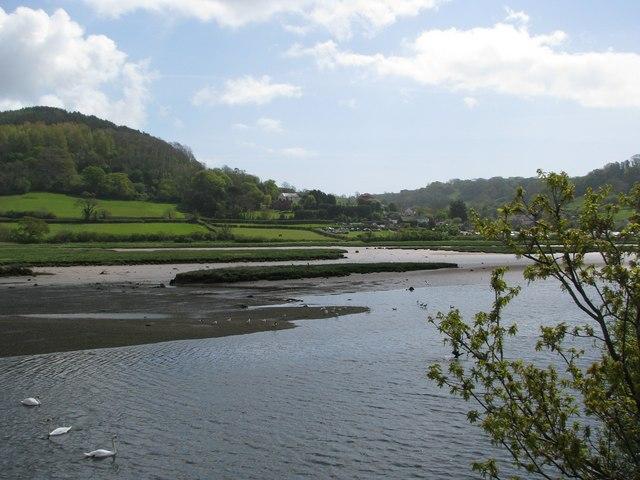 Axe estuary at high tide