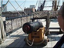 SU6200 : Top deck of HMS Victory by Paul Gillett