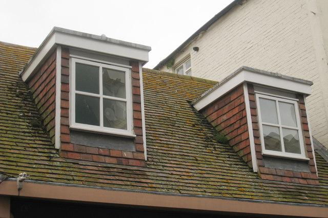 Flat Roof Dormer windows on George Street