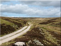 SE0270 : Shooting track, Mossdale by Gordon Hatton