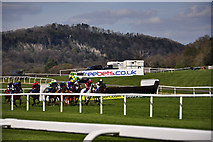ST5295 : Chepstow Racecourse by Stuart Wilding