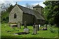 SO3409 : Llanvihangel Gobion Church by Philip Halling