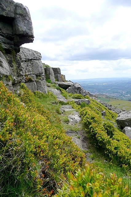 Sugar Loaf summit rocks