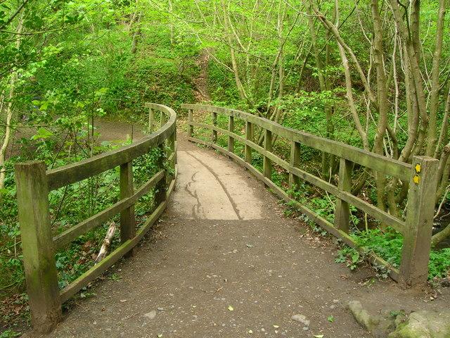 Footbridge over Percy Beck