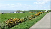 SS9168 : Nash Point Car Park by Kev Griffin