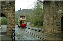 SK3455 : Blackpool Standard tram No. 40 at Crich Tramway Village by P L Chadwick