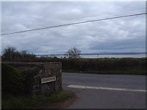 J0262 : Church Road. Derryadd with Lough Neagh in view. by Steph