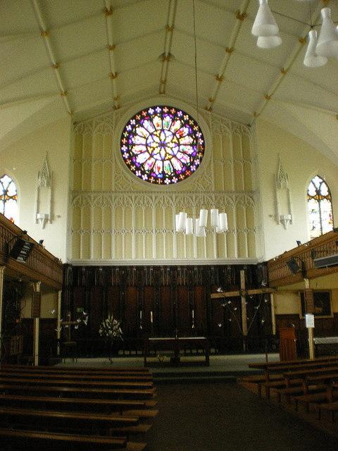 St Peter's Church, Ashton-Under-Lyne, Interior