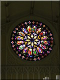 SJ9398 : St Peter's Church, Ashton-Under-Lyne, Rose window by Alexander P Kapp