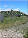 SH1726 : Graveyard, Aberdaron by Eirian Evans