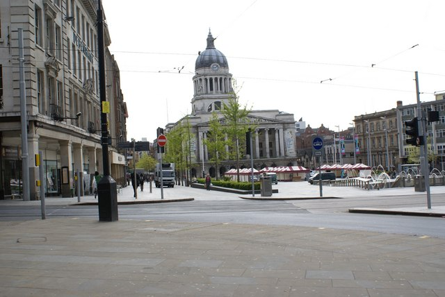Council House  and  Old  Market  Square