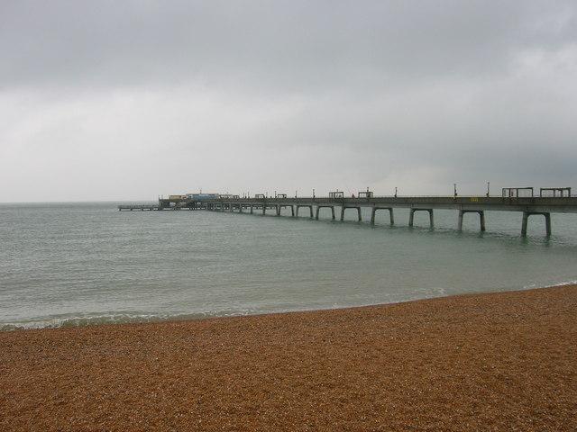 Deal Beach and Pier