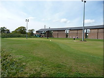 SZ1394 : Bournemouth : Iford Golf Centre - Putting Green by Lewis Clarke