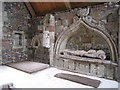 NS0863 : The Knight's Grave, St Mary's Chapel by Barbara Carr