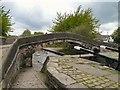 SJ9097 : Fairfield Locks Bridge by Gerald England