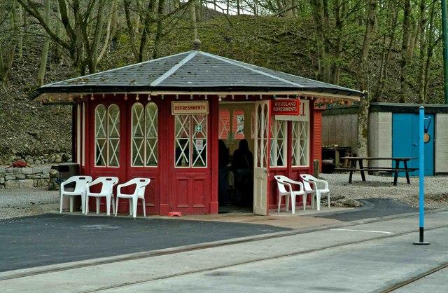 Woodland Refreshments, Wakebridge, Crich Tramway Village