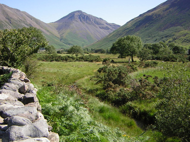 Great Gable from the head of Wast Water