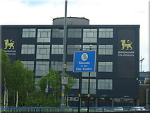 SP0787 : Welcome to the City Centre & Birmingham City University from A38 by Roy Hughes