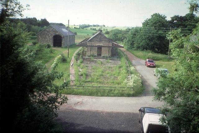 Whittingham Station, Northumberland
