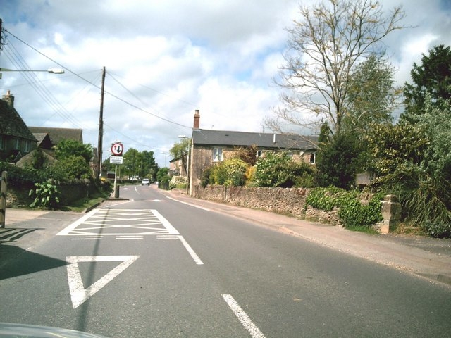 Road through Brize Norton