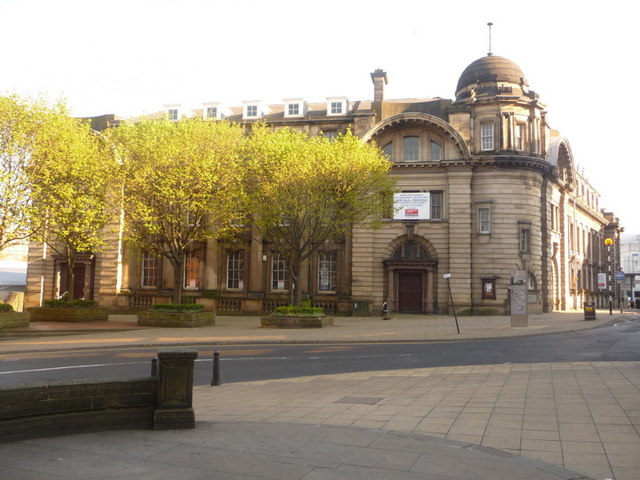 Sheffield: the old main post office