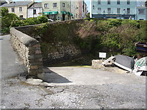 L7240 : Roundstone Harbour - the Lifeboat slipway by Keith Salvesen