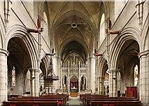 TQ2479 : St John the Baptist Church, Holland Road, London W14 - East end by John Salmon