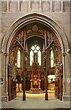 TQ2479 : St John the Baptist Church, Holland Road, London W14 - Baptistery by John Salmon