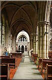TQ2479 : St John the Baptist Church, Holland Road, London W14 - North aisle by John Salmon