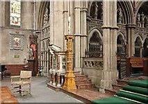 TQ2479 : St John the Baptist Church, Holland Road, London W14 - Left ambo by John Salmon