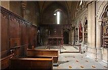 TQ2479 : St John the Baptist Church, Holland Road, London W14 - North chapel by John Salmon