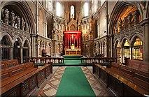 TQ2479 : St John the Baptist Church, Holland Road, London W14 - Chancel by John Salmon