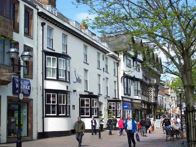 The Swan, Hotel, Greengate, Stafford
