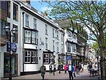 SJ9223 : The Swan, Hotel, Greengate, Stafford by Geoff Pick