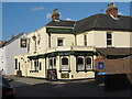 TQ6349 : Two Brewers Public House, Hadlow by David Anstiss