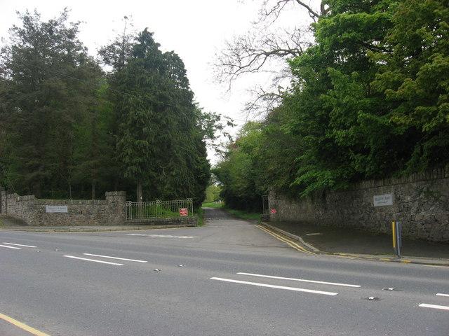 Gates to New Mellifont, Collon