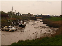 TA0623 : Barrow Haven: train just departed by Chris Downer