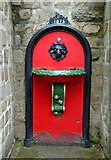 SK3455 : Drinking fountain, Crich Tramway Village by P L Chadwick