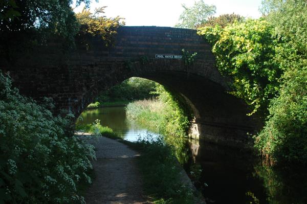 Pool Hayes Bridge on Wyrley & Essington Canal