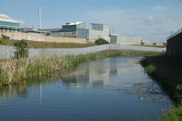 Factories beside the Wyrley & Essington Canal