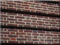TQ8109 : Brick detail on Post Office, Hastings by Oast House Archive